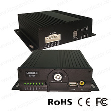 4CH 720p HD Coach Mobile DVR Eingebautes 3G GPS WiFi